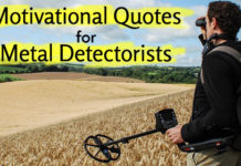 Motivational Quotes for Metal Detectors