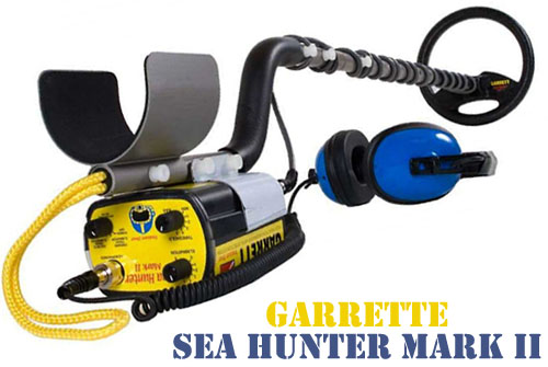 Sea Hunter Mark II Waterproof Metal Detector